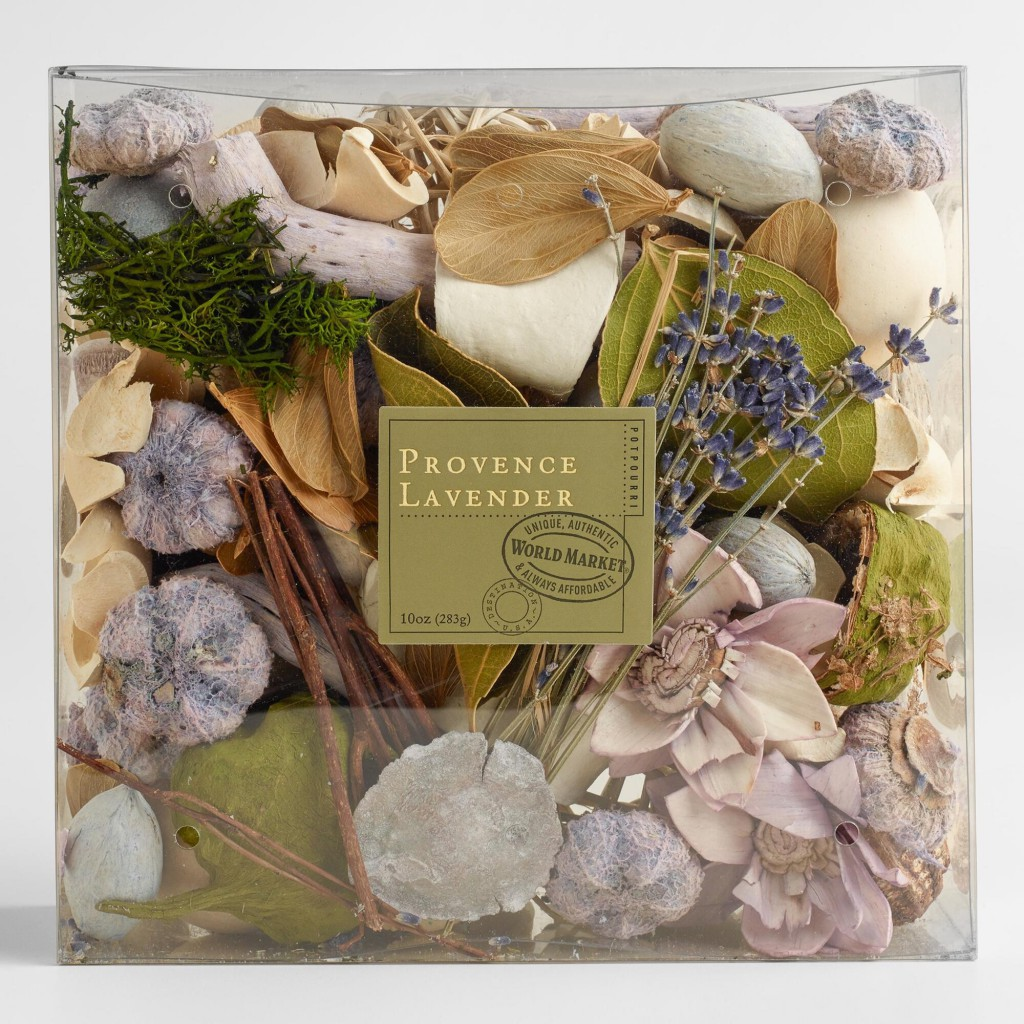 Potpourri is a colorful way to add nature's fragrance to your home.